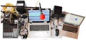 Equipement de la WebRadio déployé et exploité à la maison d'Hervé Claudet