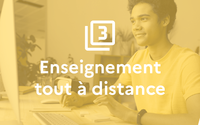 Situation 3 : Enseignement à distance