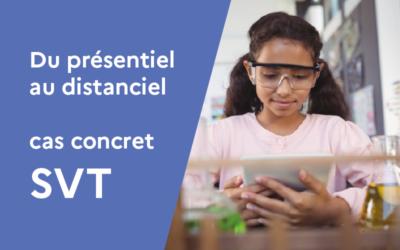 Transformer un cours en classe en cours à distance : exemple concret sur un cours de SVT.