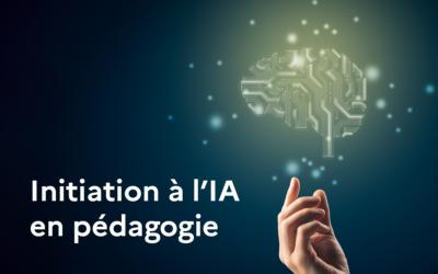 Initiation à l'intelligence artificielle en pédagogie