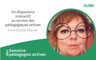 CLISE 2021, webinaire avec Anne-Claude Meunier : Genially au service des pédagogiques actives
