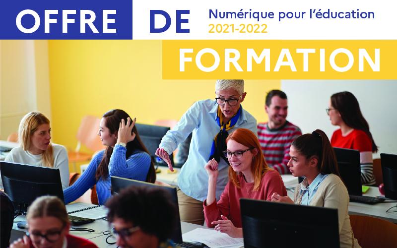 Catalogue de formations PAF 2021-2022